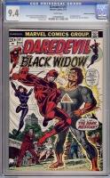 Daredevil #97 CGC 9.4 w Don Rosa Collection