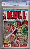 Kull The Conqueror #3 CGC 9.6 w