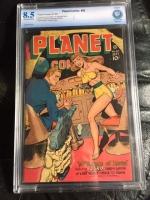 Planet Comics #50 CBCS 8.5 ow/w