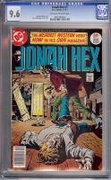 Jonah Hex #1 CGC 9.6 ow/w