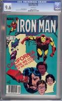 Iron Man #184 CGC 9.6 w