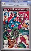 Fantastic Four #246 CGC 9.6 w