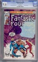 Fantastic Four #255 CGC 9.6 w