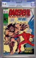 Daredevil #79 CGC 9.4 ow