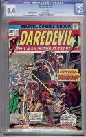 Daredevil #117 CGC 9.4 w