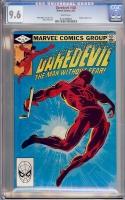 Daredevil #185 CGC 9.6 w