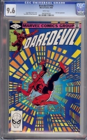 Daredevil #186 CGC 9.6 w