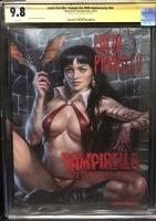 Lucio Parrillo: Vampirella 50th Anniversary #1 CGC 9.8 w CGC Signature SERIES