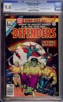 Defenders Annual #1 CGC 9.4 w