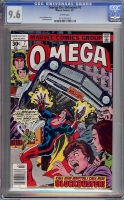Omega the Unknown #7 CGC 9.6 w