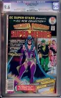 DC Super-Stars #17 CGC 9.6 w