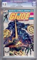 G.I. Joe, A Real American Hero #3 CGC 9.8 w
