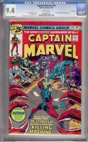 Captain Marvel #44 CGC 9.4 w Winnipeg