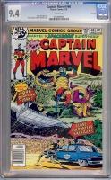 Captain Marvel #60 CGC 9.4 w Winnipeg