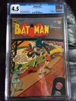 Batman #74 CGC 4.5 ow/w