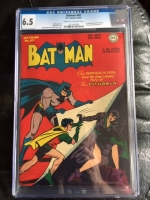 Batman #42 CGC 6.5 cr/ow