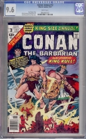 Conan the Barbarian Annual #3 CGC 9.6 w