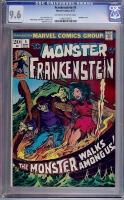 Frankenstein #5 CGC 9.6 ow/w