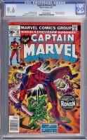Captain Marvel #49 CGC 9.6 w