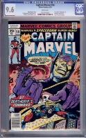 Captain Marvel #56 CGC 9.6 w