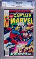 Captain Marvel #57 CGC 9.6 w