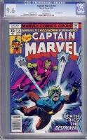 Captain Marvel #58 CGC 9.6 w