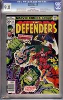 Defenders #46 CGC 9.8 w