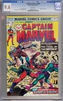 Captain Marvel #38 CGC 9.6 w