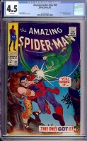 Amazing Spider-Man #49 CGC 4.5 w