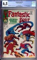 Fantastic Four #73 CGC 6.5 w