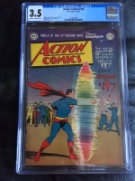 Action Comics #162 CGC 3.5 cr/ow
