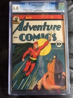 Adventure Comics #61 CGC 6.0 cr/ow