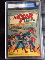 All-Star Comics #36 CGC 7.0 ow