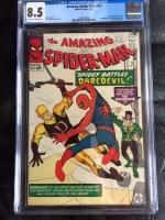 Amazing Spider-Man #16 CGC 8.5 ow/w