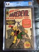 Daredevil #4 CGC 9.4 ow/w