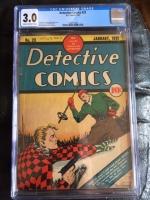 Detective Comics #23 CGC 3.0 cr/ow