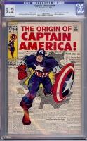 Captain America #109 CGC 9.2 w