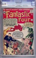 Fantastic Four #6 CGC 6.0 ow/w