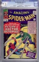 Amazing Spider-Man #11 CGC 5.5 ow/w