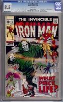 Iron Man #19 CGC 8.5 w