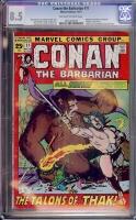 Conan The Barbarian #11 CGC 8.5 ow/w