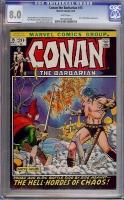 Conan The Barbarian #15 CGC 8.0 w