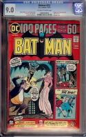Batman #257 CGC 9.0 ow/w