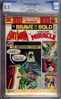 Brave and the Bold #112 CGC 8.5 ow/w