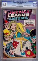 Justice League of America #29 CGC 6.5 ow