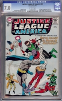 Justice League of America #35 CGC 7.0 ow
