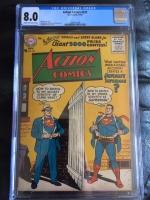 Action Comics #222 CGC 8.0 cr/ow