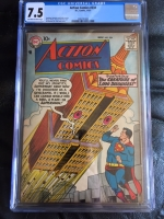 Action Comics #234 CGC 7.5 ow/w