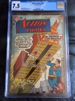 Action Comics #234 CGC 7.5 ow/w
