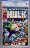 Incredible Hulk #118 CGC 8.0 ow/w